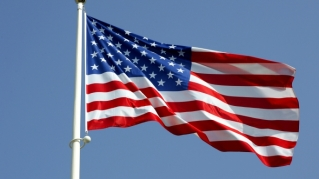 American-Flag-hoisted-waving